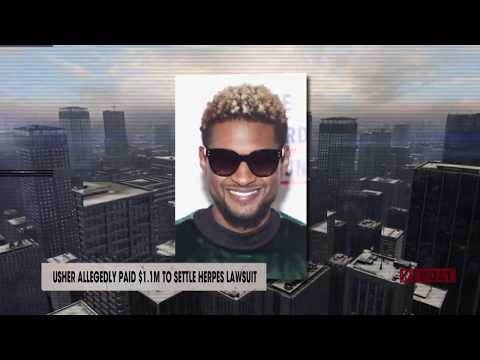 Usher allegedly paid $1.1M to settle herpes lawsuit | Rumor Report