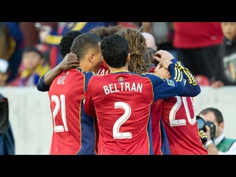 GOAL: Luis Gil header connects on Plata cross    Real Salt Lake vs Vancouver Whitecaps