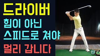 [Golf Lesson] How to hit a long drive