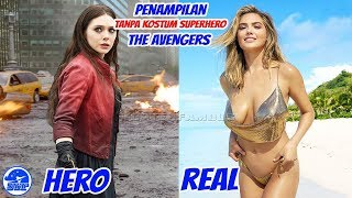 vuclip Penampilan 7 Aktor The Avengers Age of Ultron Tanpa Kostum Superhero