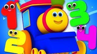 Popular Nursery Rhymes - Bob The Train Videos | Kids Cartoon for Toddlers