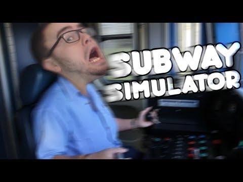 TRAIN CRASH INTO A WALL | Subway Simulator