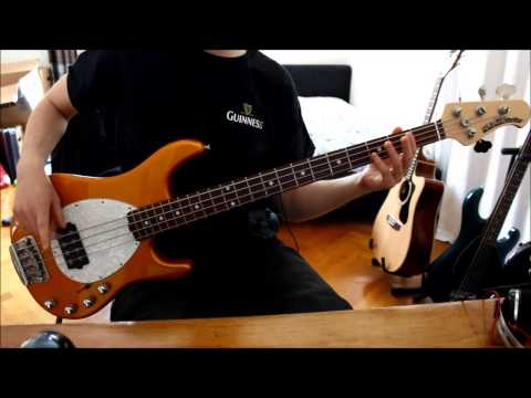 Mudvayne: Dig bass cover - Barry Enright