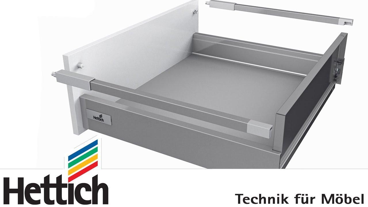 Systeme De Tiroirs Innotech Atira Construction Montage Et Reglage Des Tiroirs Et Casseroliers Youtube