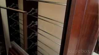 Градеробная из МДФ и шпон дуб тонированный (часть 2)(Гардеробная комната изготовлена из МДФ шпон дуб тонированный. Большой фото каталог гардеробных изготовлен..., 2012-03-19T18:56:28.000Z)