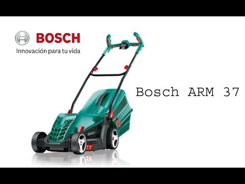 Bosch ARM 37- El mejor Cortacésped Eléctrico de 2018