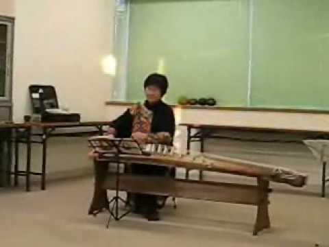 筝曲 松の寿と涼流 楽楽勉強会より.wmv