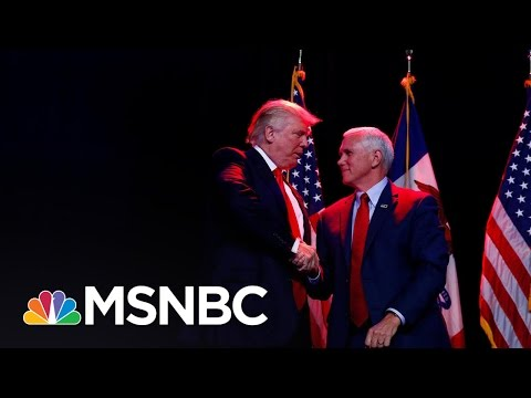 Mike Pence To Take Over Donald Trump's Transition Team | MSNBC