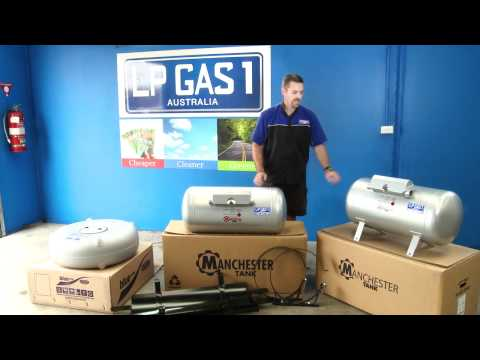 Different LPG Gas cylinders and sizes available for your car gas conversion | LP Gas1