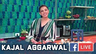 Kajal Aggarwal Interview ( FB LIVE ) | MLA Movie Interview | Blue Planet Entertainments LLP