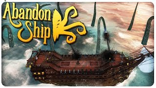 FTL meets Lovecraft Mythos in EPIC SEA BATTLES! | Abandon Ship Gameplay