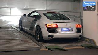 Audi R8 V8 Coupé (430hp) - pure SOUND (60FPS)