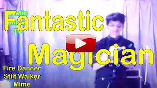 Magician Stage Acrobat Stilt Walker Fire Dancer Mime Artist Manila Philippines Thumbnail