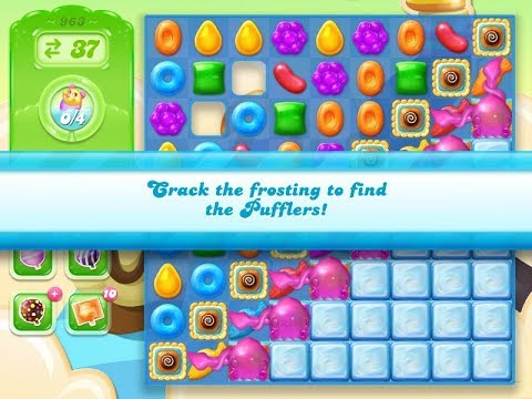 Candy Crush Jelly Saga Level 963 (No boosters)