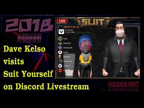 PSEC - 2018 - Dave Kelso visits Suit Yourself on Discord Livestream [hd 720p]