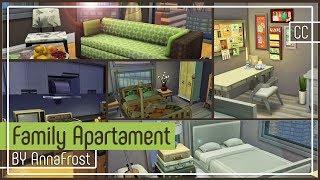 The Sims 4: Строительство | Семейная квартира