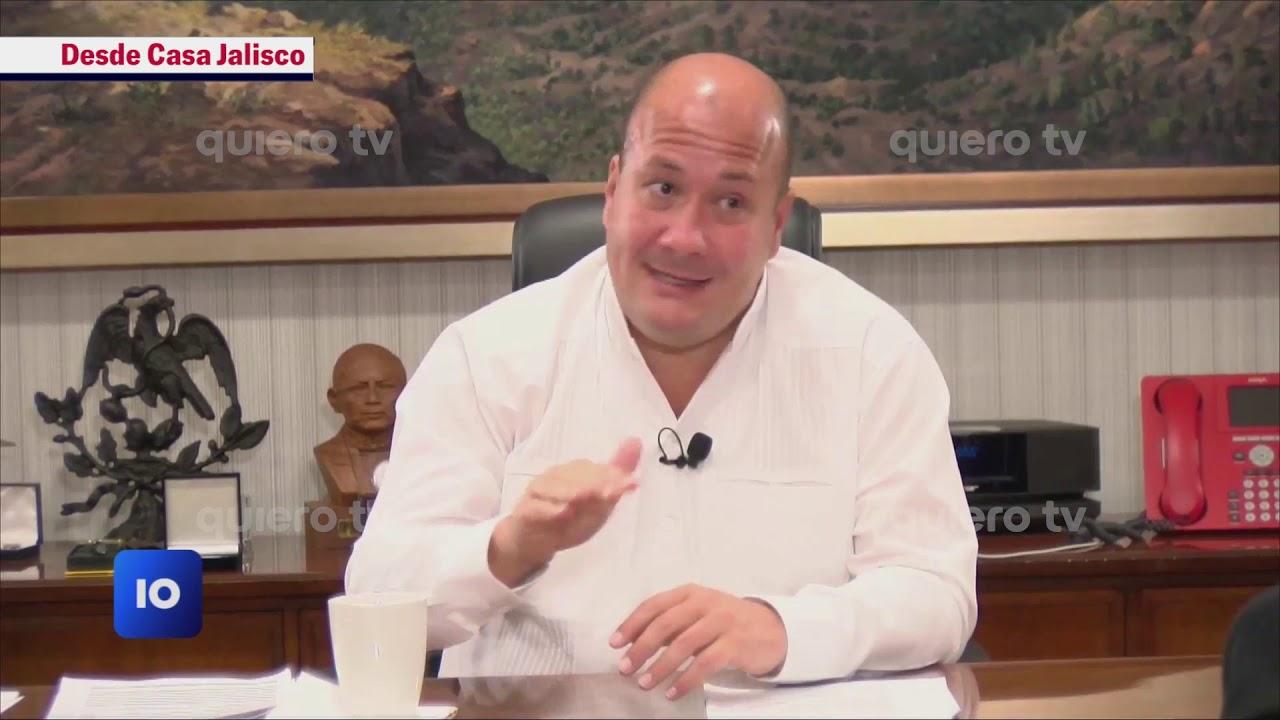 #Entrevista| Enrique Alfaro habla sobre los hechos violentos en la manifestación de GDL