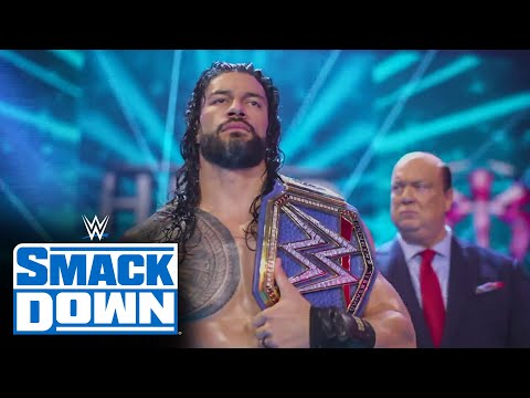 Roman Reigns' new entrance: SmackDown, April 30, 2021