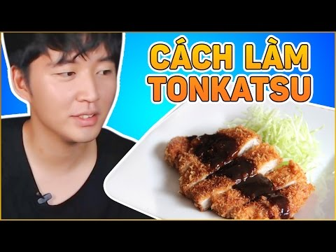 Tonkatsu   Thịt heo chiên xù Nhật Bản   How to make Tonkatsu