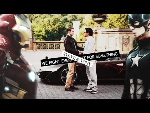 Steve/Tony • we fight every night for something