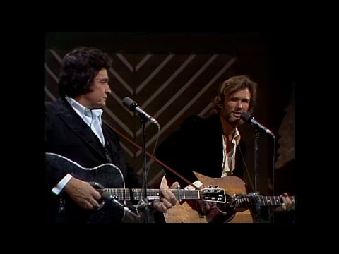 Johnny Cash and Kris Kristofferson - Sunday Morning Coming Down