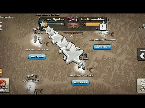 NEW WORLD RECORD - Clash Of Clans 2018 | Last Minute War Attacks - Trojan War