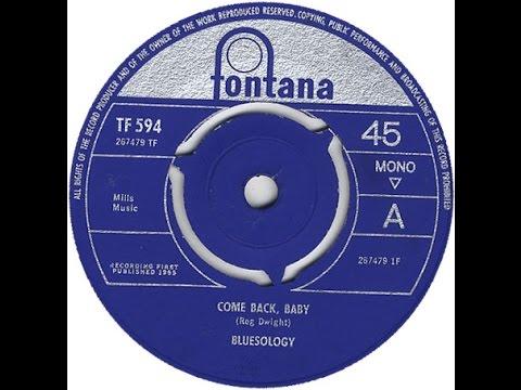 Elton John (Reg Dwight) with Bluesology - Come Back Baby (1965)