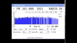 [Tropo] 101.0 MHz - Radio 24 - Cherkasy - (179 km) - RDS