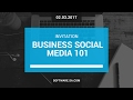 Business Social Media 101 - Invitation
