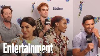 'Riverdale's' KJ Apa Teases Archie's Likely Prison Stint | SDCC 2018 | Entertainment Weekly