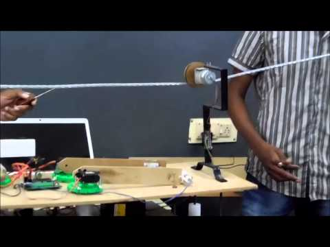 EEE Project @ VJIT (Hot line Robot)