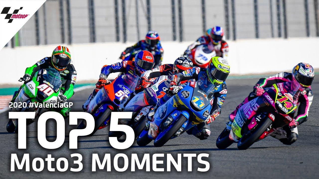 Top 5 Moto3 Moments