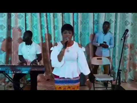 A Moment Like This... Watch Piesie Esther Live Performance @ CoP Adweso District Koforidua.