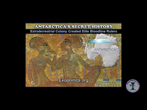 ExoNewsTV Antarctica's Secret History – Extraterrestrial Colony Created Elite Bloodline Rulers