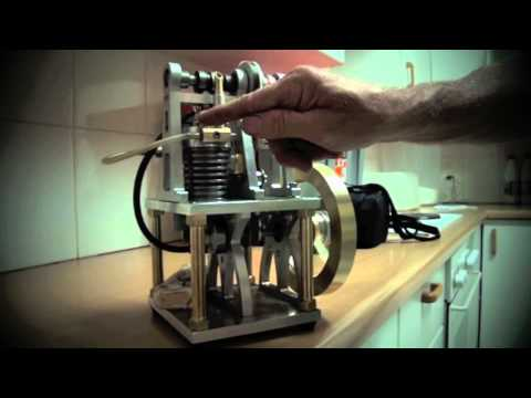 Homemade 4 stroke petrol engine