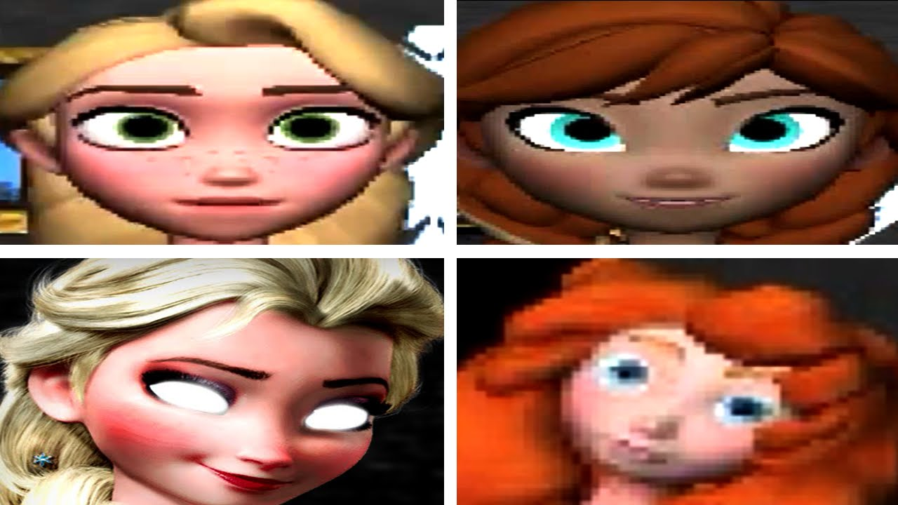Five nights at frozen all jumpscares youtube