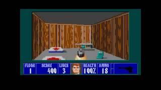 Wolfenstein 3D Sega Megadrive\Genesis - Episode 1 Longplay