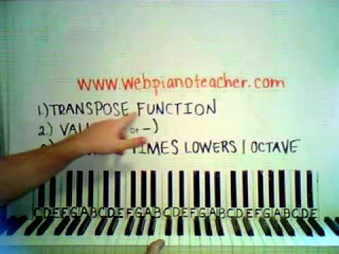 How To Transpose Your Keyboard