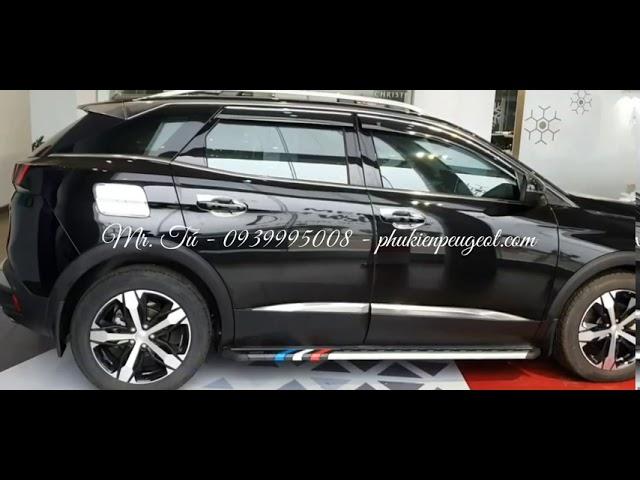 Phụ kiện xe Peugeot 3008 all new màu đen