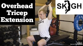 Overhead Dumbbell Tricep Extension [EP. 11]