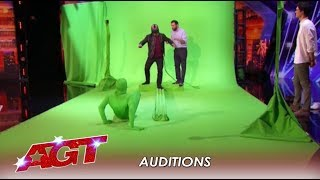 Virtual Reality Act Forces Howie To CONFRONT His Fears! | America's Got Talent 2019