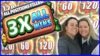 🥗FARMVILLE MIGHTY CASH BIG WIN 💥 👯♀️SISTERS TAKE OVER THE CHANNEL 👭