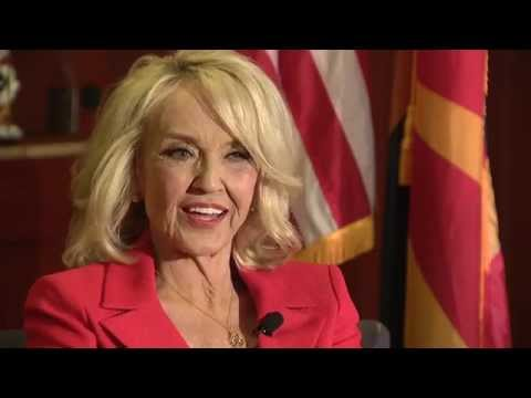 Raw interview with Arizona Governor Jan Brewer