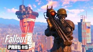 Fallout 4 Gameplay Walkthrough, Part 5 - THE MOLECULAR LEVEL!!! (Fallout 4 PC Ultra Gameplay)