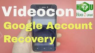 videocon graphite v451720 google account recovery