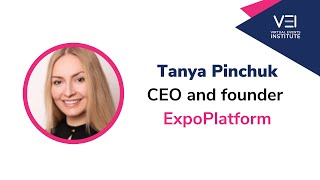 5 Questions With Tanya Pinchuk CEO and founder, Expoplatform