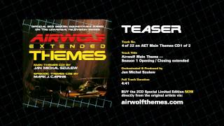 AIRWOLF Extended Themes CD1 Track 4 Teaser - Airwolf Theme Season 1 Opening / Closing Ext
