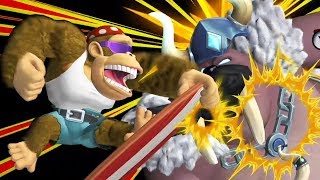Donkey Kong Country Tropical Freeze - All Bosses with Funky Kong