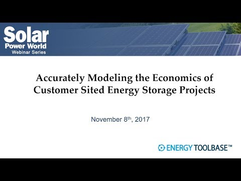 Accurately Modeling the Economics of BTM Energy Storage Projects