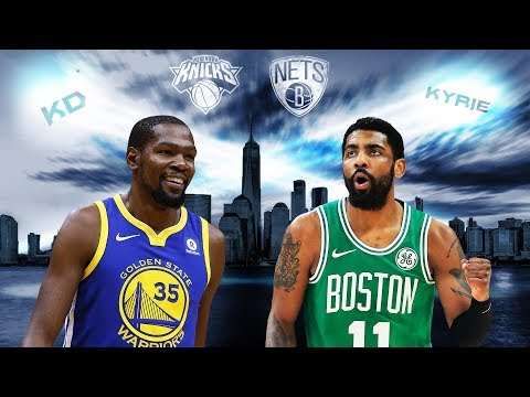 Could KD, Kyrie save 'Gotham City' and sign with the Knicks or Nets? | 2019 NBA Free Agency